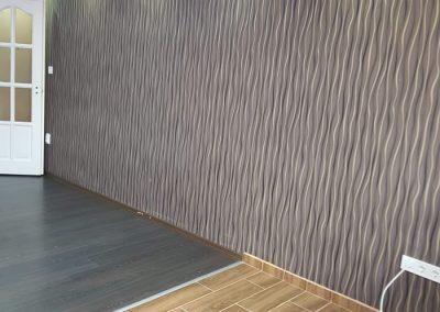 lakásfelújítás szoba festés tapézátás
